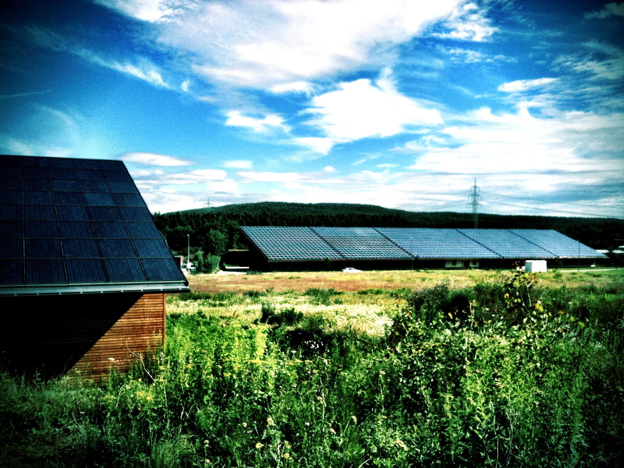 Solaranlagen für Gewerbebetriebe