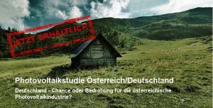 PV-Studie Österreich/Deutschland out now!