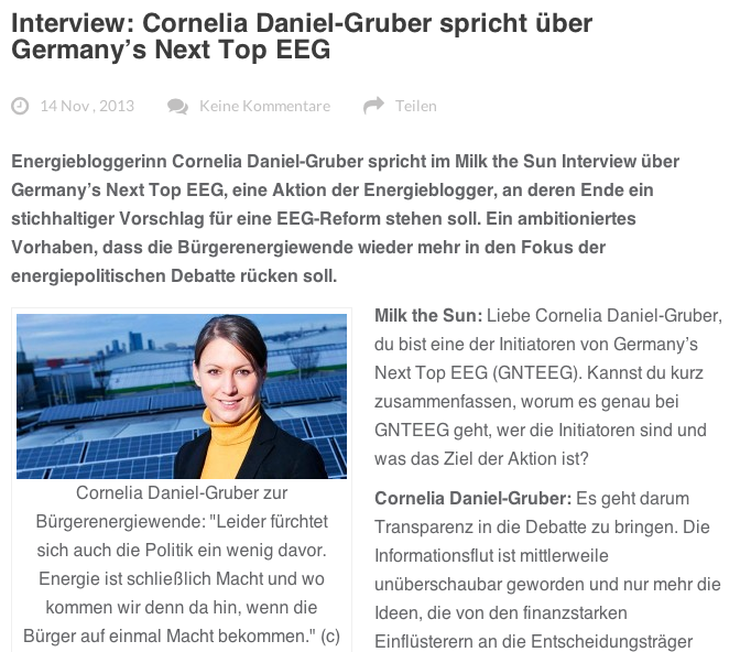 Interview Cornelia Daniel Gruber