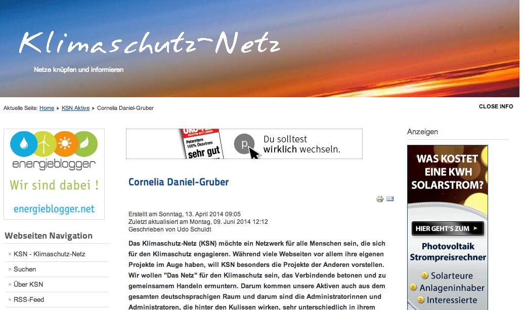 Interview Cornelia Daniel Gruber Klimaschutznet