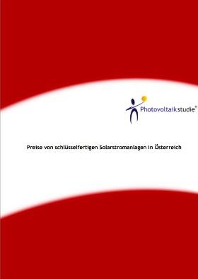 Preisstudie-Kosten-Solaranlagen-Photovoltaik-Österreich