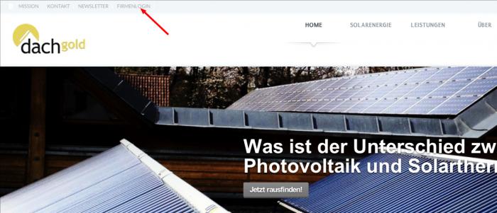 Photovoltaik-Kosten-Firmenlogin
